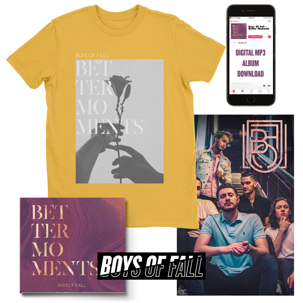 "Boys Of Fall ""Better Moments"" T-Shirt Bundle"
