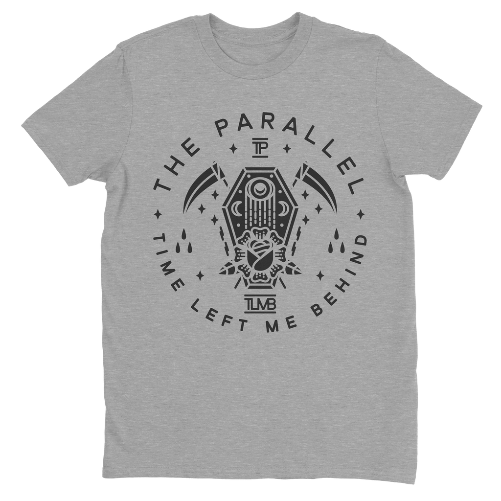 "The Parallel Grey ""Coffin"" T-Shirt"