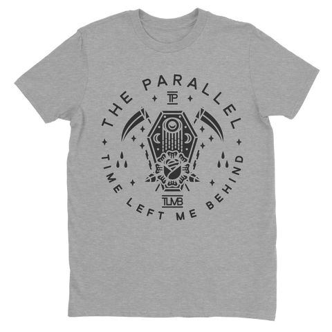 "The Parallel Grey ""Coffin"" T-Shirt (PRE-ORDER)"
