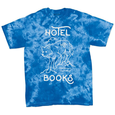 "Hotel Books ""Acid Wash Blue"" T-Shirt"
