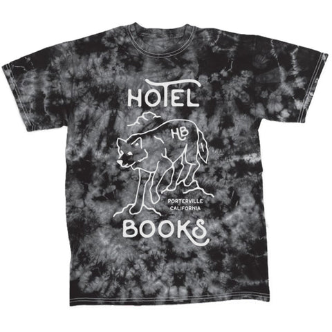 "Hotel Books ""Acid Wash Black"" T-Shirt"