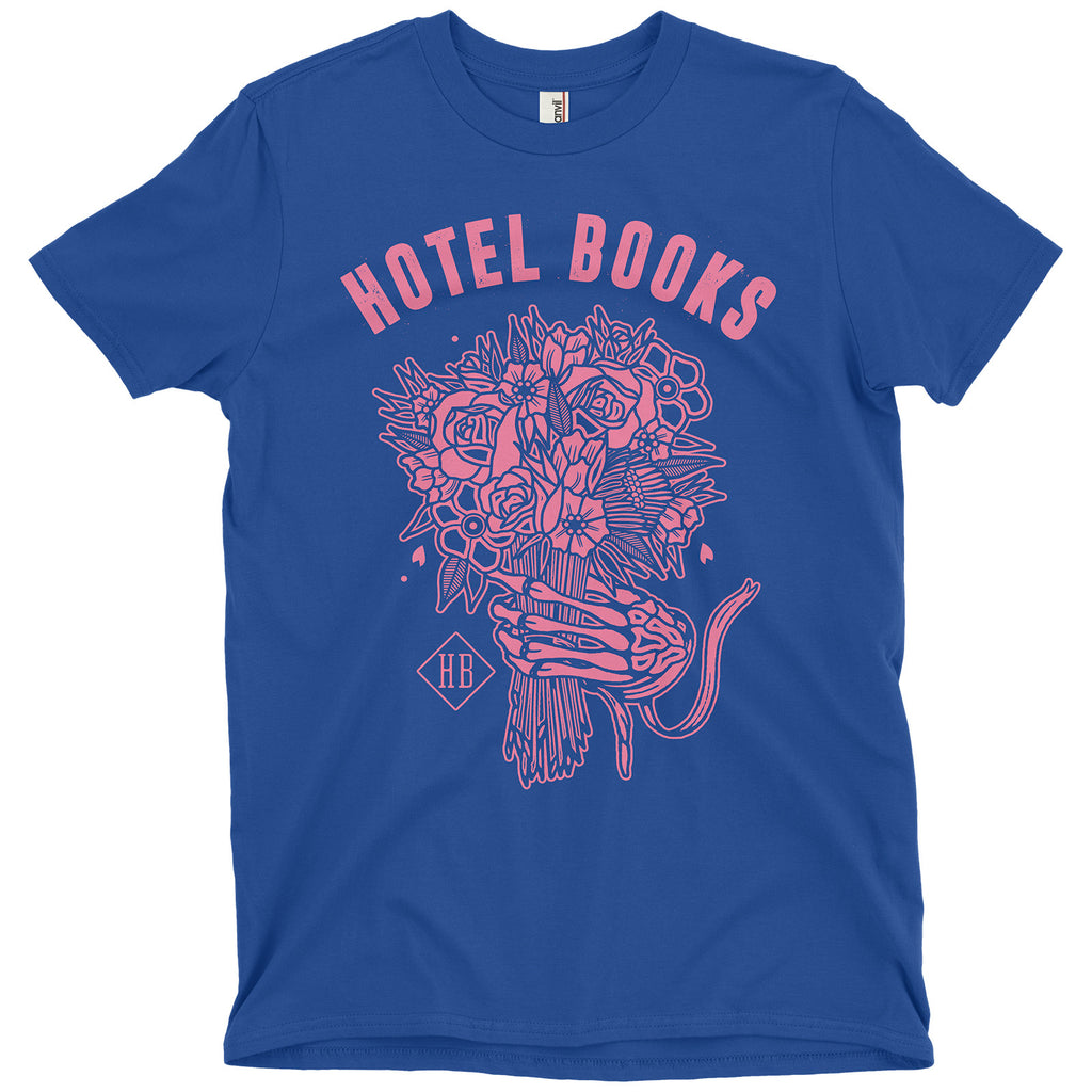 "Hotel Books ""Summer Limited Neon Blue"" T-Shirt"