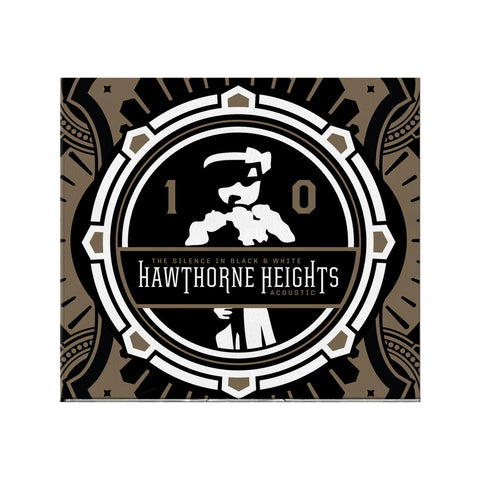 "Hawthorne Heights ""The Silence In Black & White (Acoustic)"" CD **AUTOGRAPHED**"