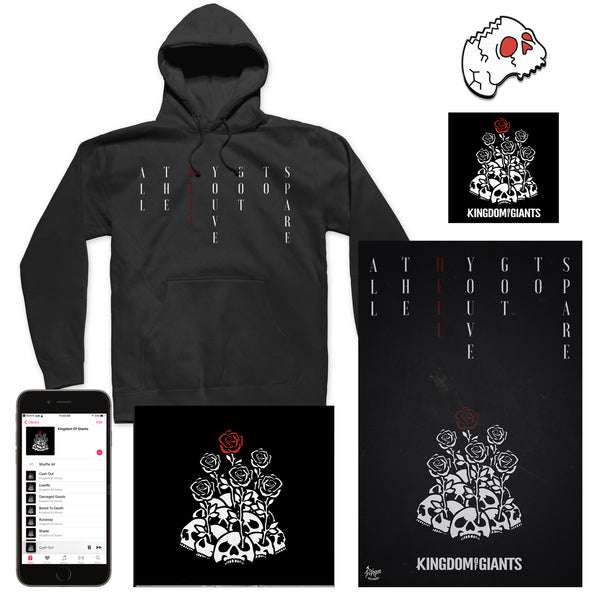 "Kingdom Of Giants ""Album Artwork"" Hoodie Bundle"