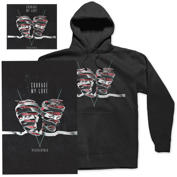 "Courage My Love ""Hoodie"" T-Shirt Bundle"
