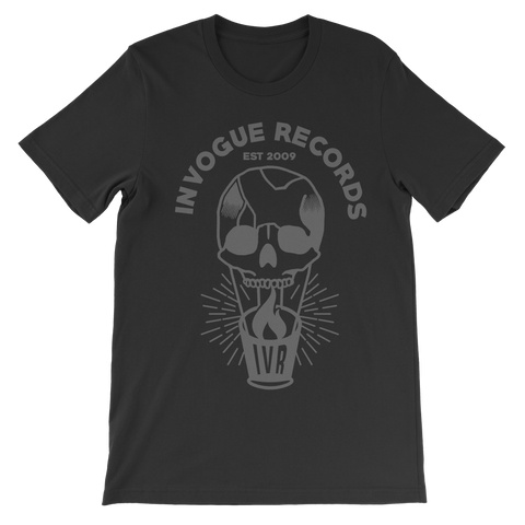 "InVogue Records ""Skull Balloon"" T-Shirt"