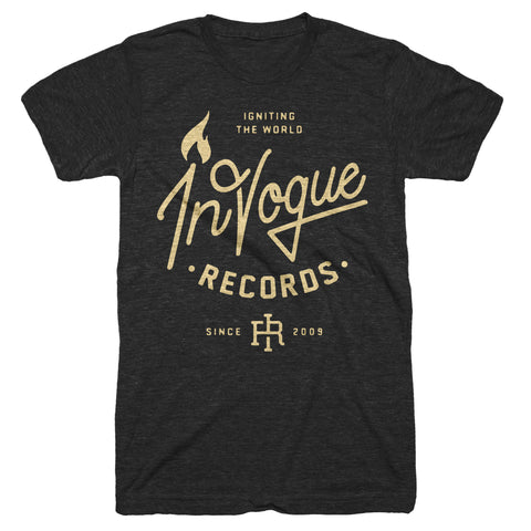 "InVogue Records ""Igniting The World"" T-Shirt (Black Friday)"