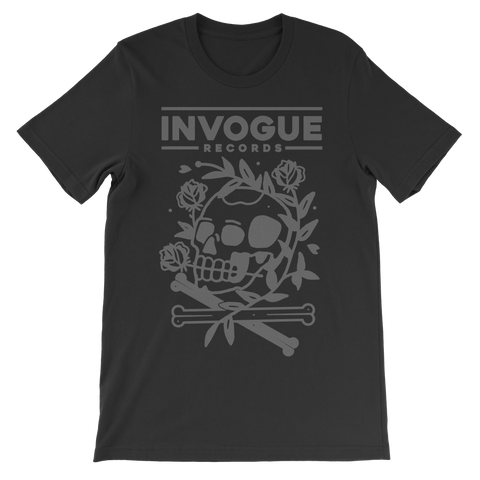 "InVogue Records ""Skull Rose"" T-Shirt"