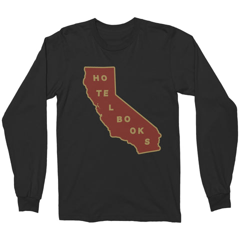 "Hotel Books ""California"" Long Sleeve Shirt"