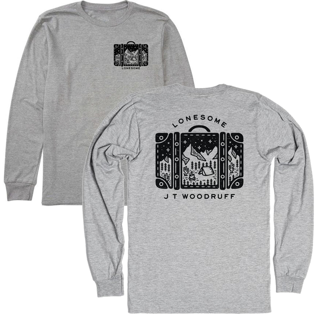 "JT Woodruff ""Lonesome"" Long Sleeve T-Shirt (Black Friday)"