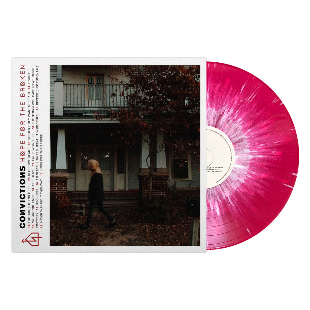 "Convictions ""Hope For The Broken"" (LP - Blood Red w/ White Splatter)"