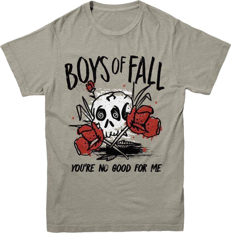 "Boys Of Fall ""No Good For Me"" T-Shirt - XL"