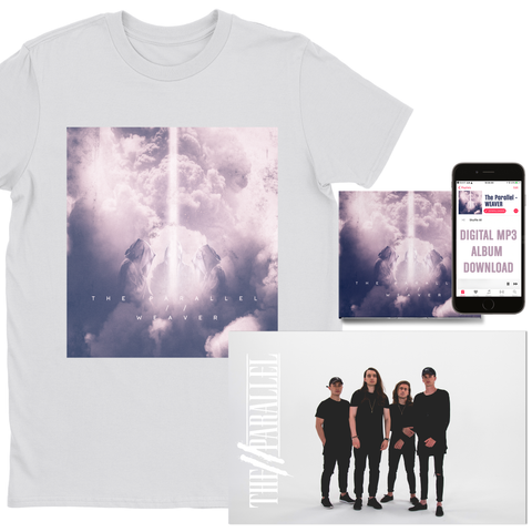 "The Parallel ""Album Art"" T-Shirt Bundle (PRE-ORDER)"