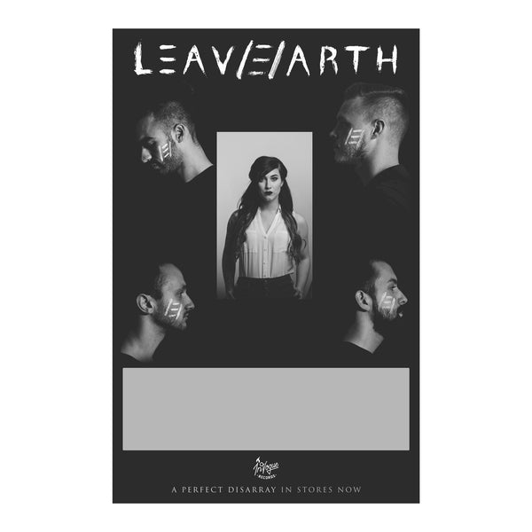 LEAV/E/ARTH CD + Poster Bundle