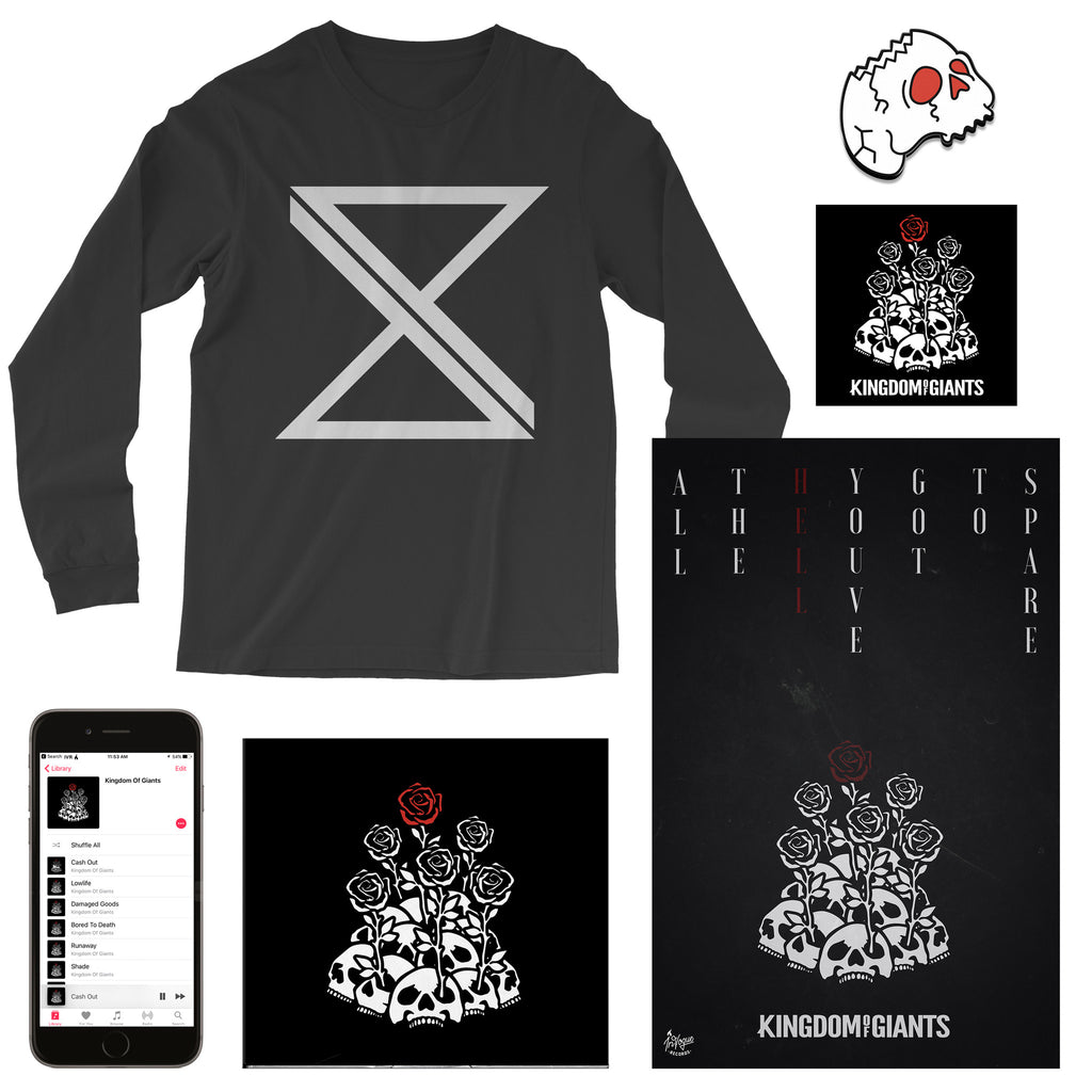 "Kingdom Of Giants ""Runaway"" Long Sleeve T-Shirt Bundle"