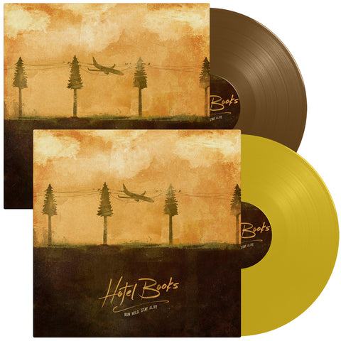 "Hotel Books ""Run Wild, Stay Alive"" Vinyl Bundle"