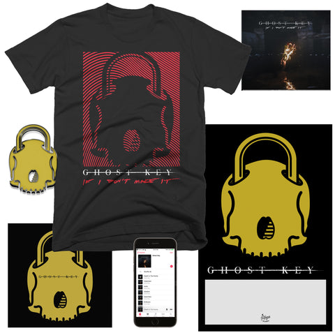 "Ghost Key ""Skull Lock"" T-Shirt Bundle"