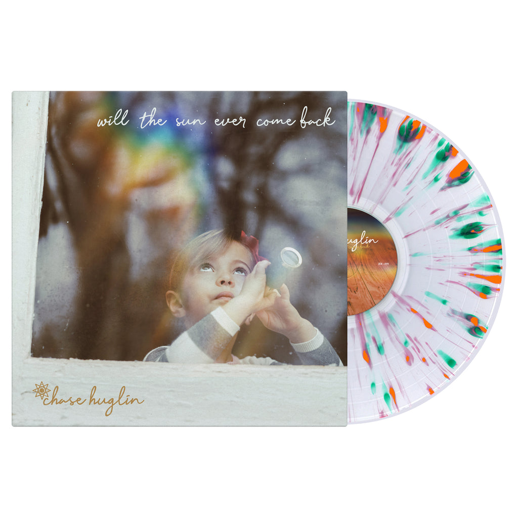 Chase Huglin - Will The Sun Ever Come Back LP (Clear Splatter)