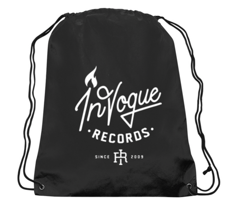 InVogue Records Drawstring Backpack