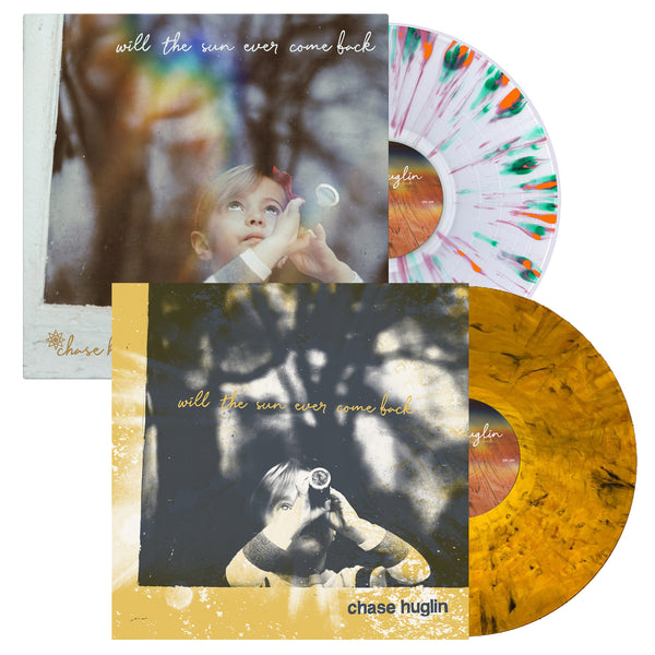 Chase Huglin - Will The Sun Ever Come Back LP Bundle (Tiger Eyes / Clear Splatter)