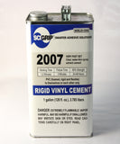 2007 VERY FAST SET, CLEAR, WATER-THIN SYRUP SOLVENT CEMENT