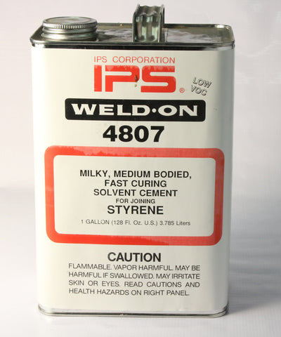 4807 MILKY, MEDIUM BODIED, FAST CURING SOLVENT CEMENT