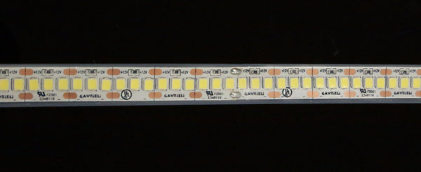 LED S2835 - 240 Lights per meter (CENTERED, SINGLE LINE)