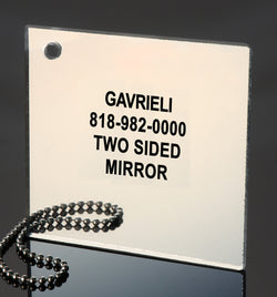 TWO SIDED MIRROR