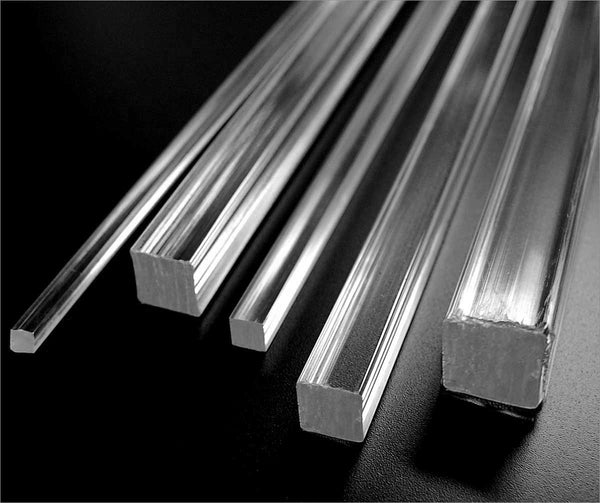 Acrylic Square Rods
