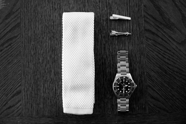 TIE + TIE BAR BUNDLE