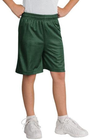 Youth PosiCharge® Classic Mesh Short