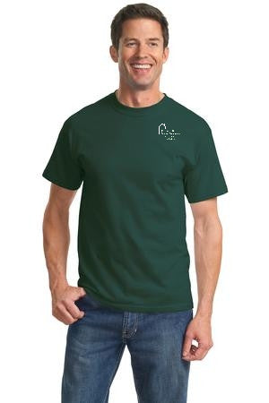 Adult Short Sleeve T-Shirt with Webster School Logo