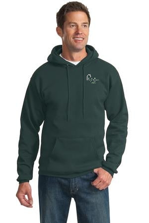 Adult Pullover Hooded Sweatshirt with Webster School Logo
