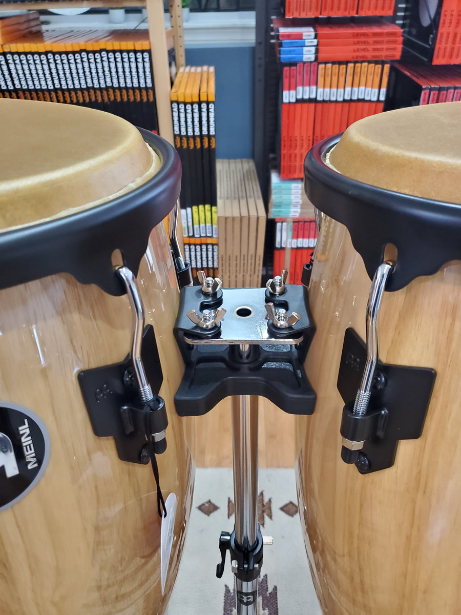 "Percussion - Meinl 11"" & 12"" Headliner Series Conga Set With Stand (Natural)"