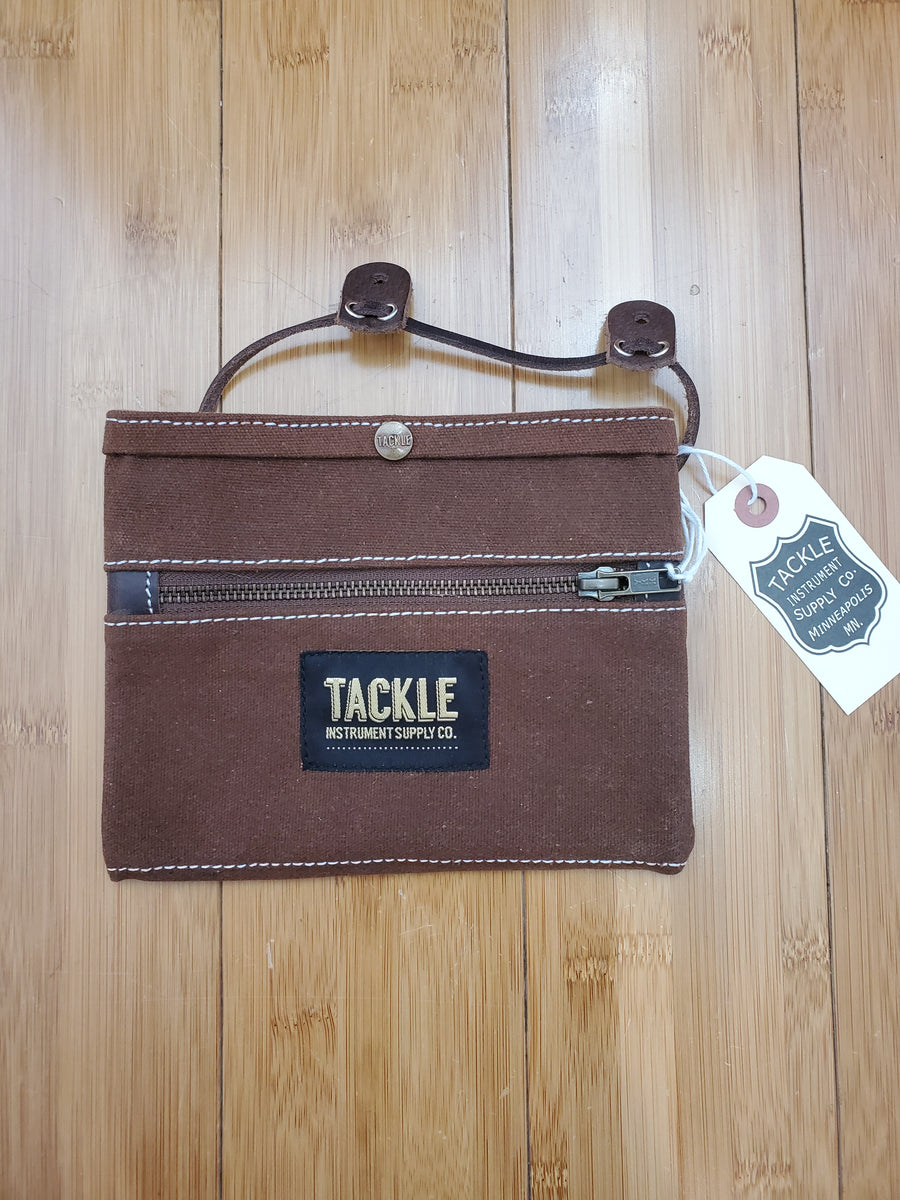 Accessories - Tackle Instruments Waxed Canvas Gig Pouch (Brown)