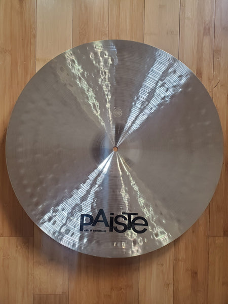 "Cymbals - Paiste 22"" Masters Dark Crash Ride"