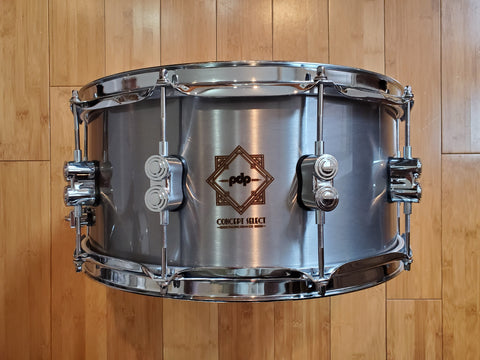 Snares - PDP Concept Select 6.5x14 Steel Snare Drum