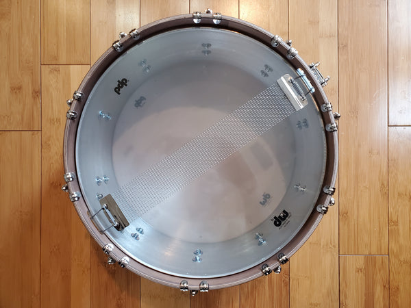 Snares - PDP Concept Select 6.5x14 Aluminum w/ Walnut Hoops