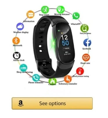 lige smart watch for men and women