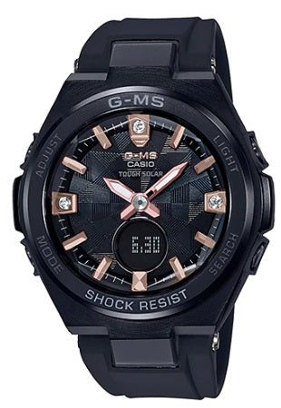 Casio con diamantes baby-g naturales