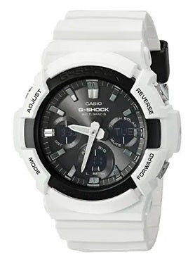 casio g-shock con diamantes color blanco
