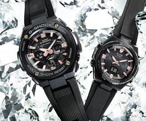 casio g shock con diamantes vintage