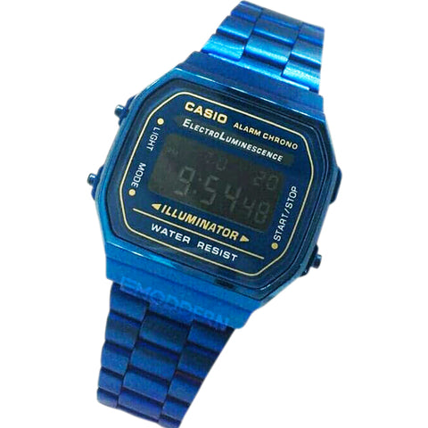 Reloj Casio retro vintage color azul