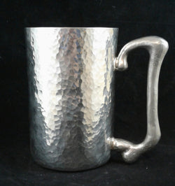 Plain hammered stein