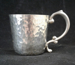 Pewter shot with handle