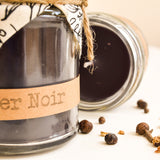 Hand Poured Candle 'Amber Noir' by Anna Palamar Designs