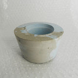 Blue Concrete Pot by Molcrete