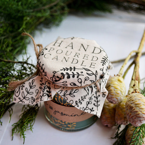 Hand Poured Candle 'Himalayan Cedar & Jasmine' by Anna Palamar Designs