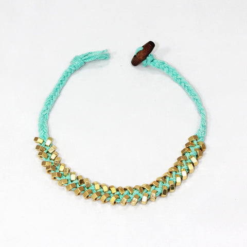 Sarah-Lily Necklace - Sky Blue