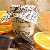 Hand Poured Candle 'Orange & Chocolate' by Anna Palamar Designs